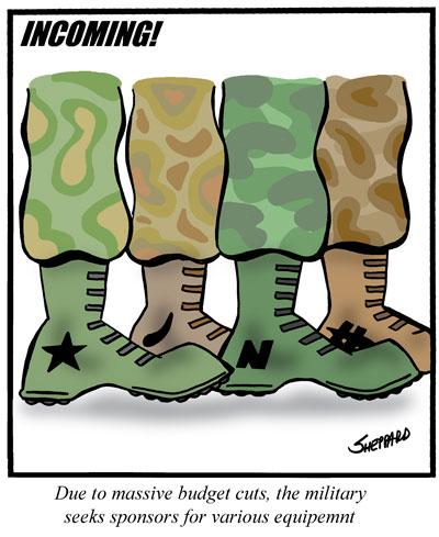 Combat boot cartoon