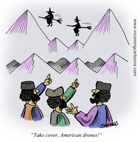 389. Drone Witches