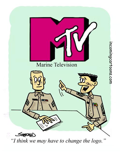 823. MTV Logo