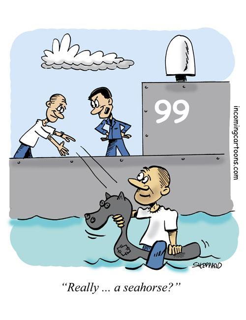 839. Throw a Seahorse