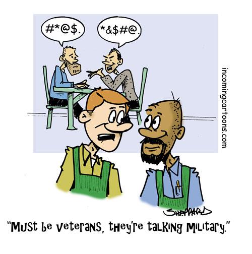 893. Talking Military