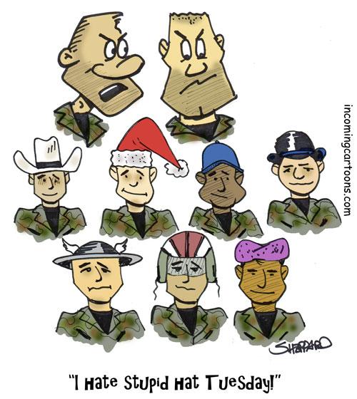 901. Stupid Hat Day