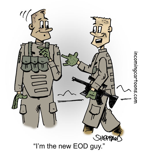945. New EOD Guy