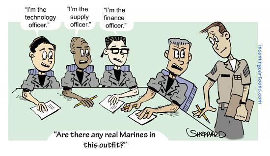 1005. Any Real Marines?