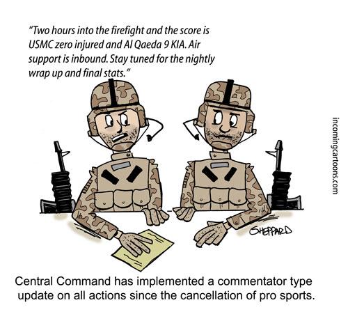 1007. Commentators on Firefight